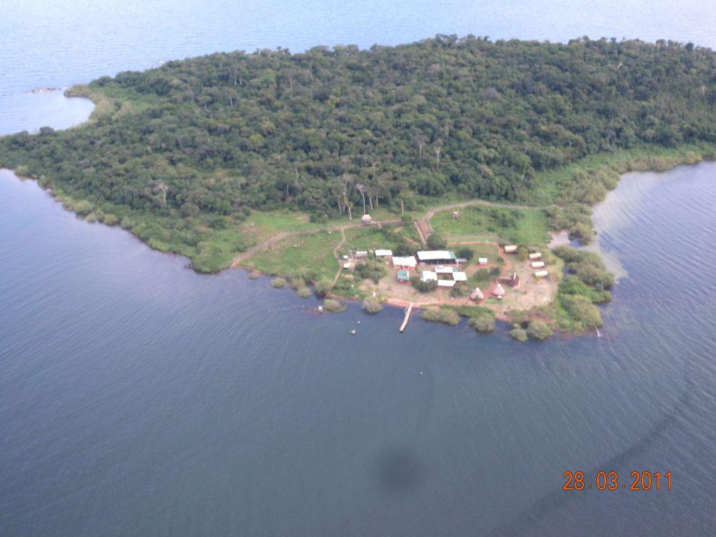 Ngamba aerial view
