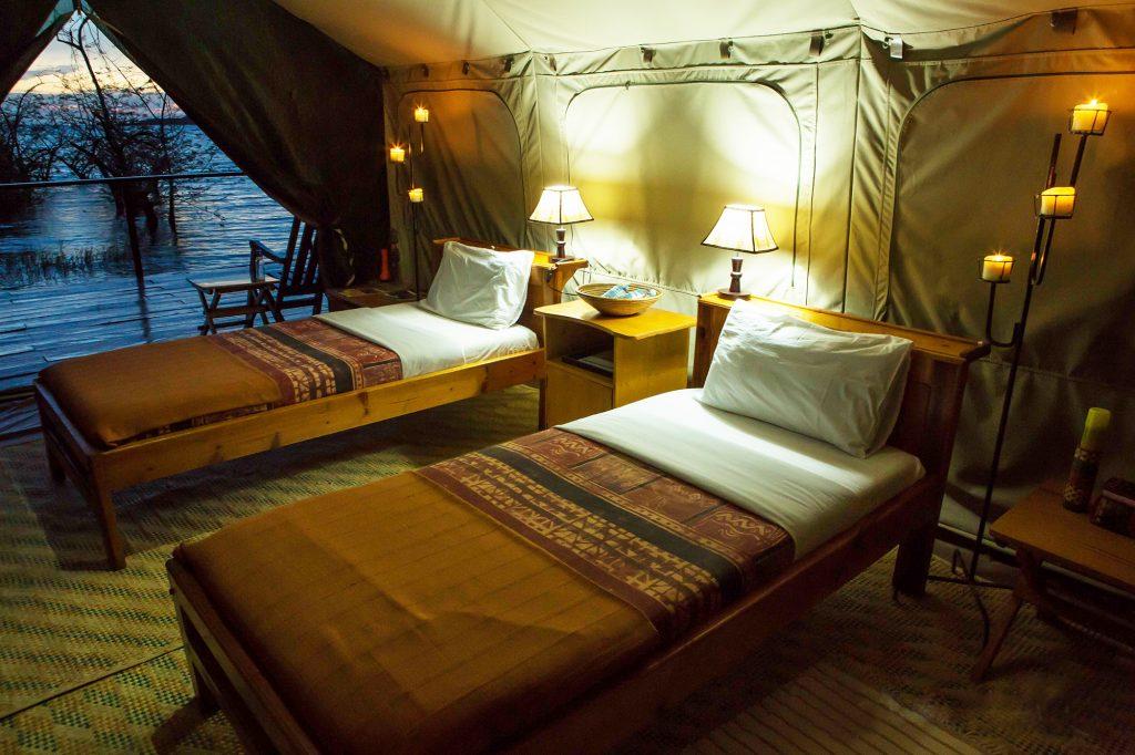 Ngamba Tented camp