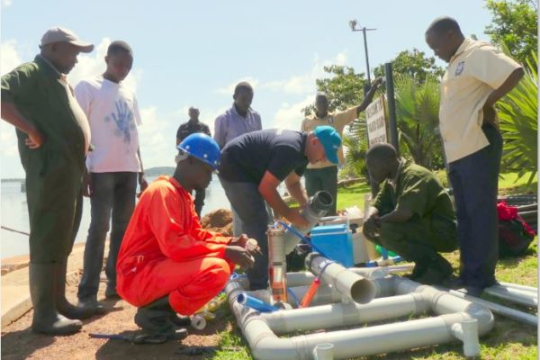 New Water system at Ngamba