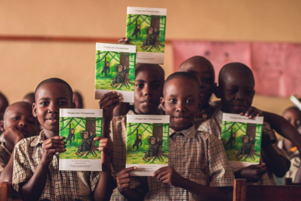 Chimpanzee Trust education program